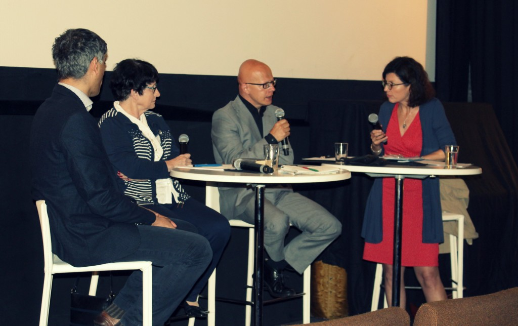 Ahmet Cavuldak, Edna Brocke, Philipp Stoelger und Jacqueline Boysen.